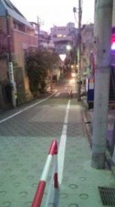 須賀神社に行く道