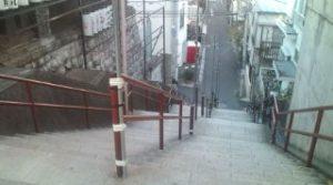 須賀神社階段上2(再会シーン)