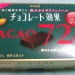 チョコレート効果72%を食べた感想!味やカロリーに1日何個食べる?